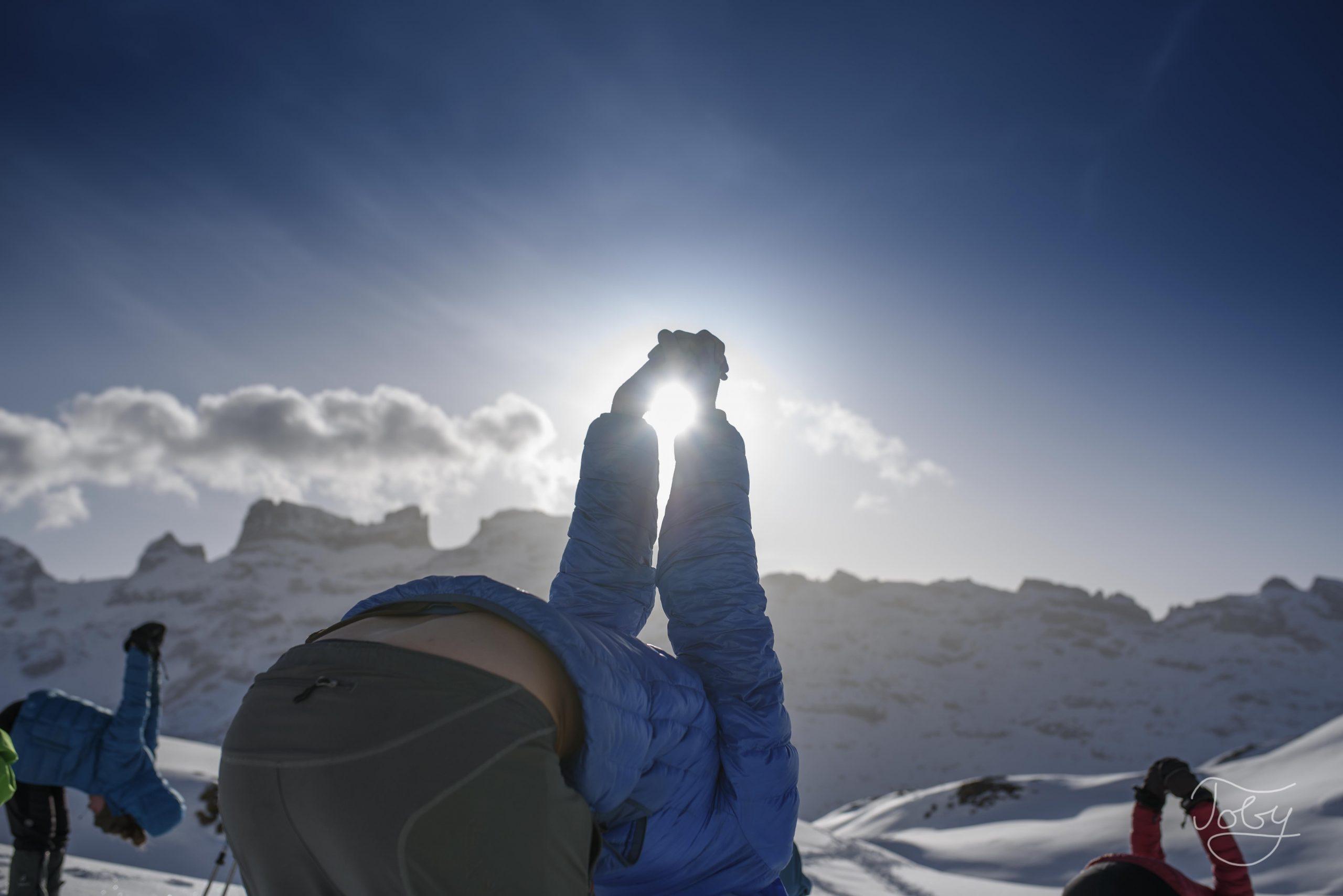 Genussvolles Schneeabenteuer